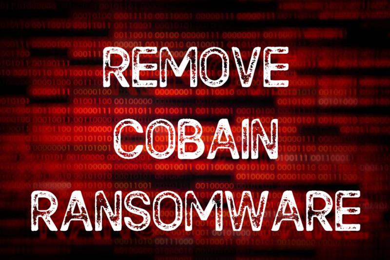 remove Cobain ransomware