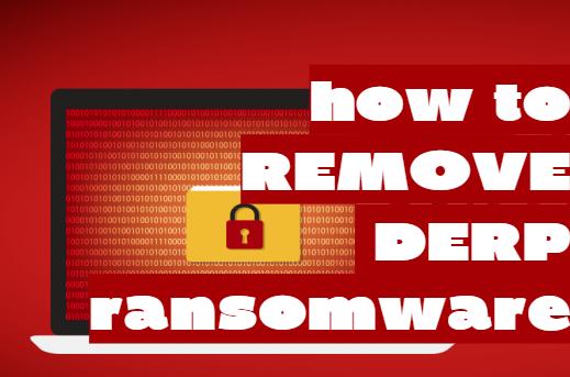 remove Derp ransomware