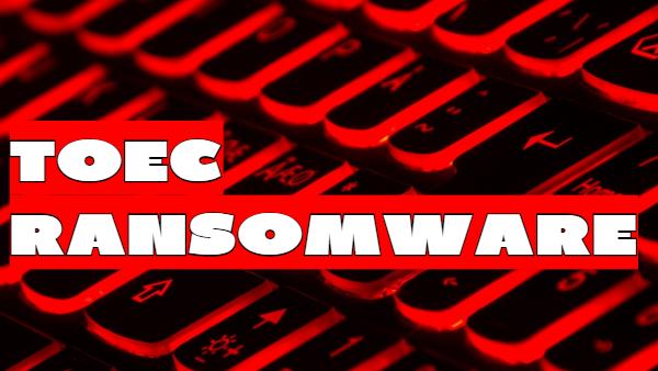 remove Toec ransomware