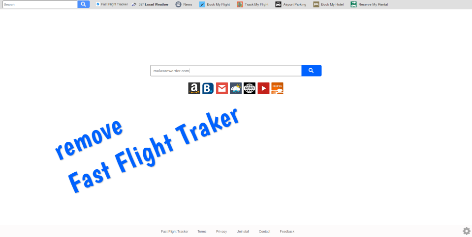 supprimer pirate de l'air rapide Flight Tracker