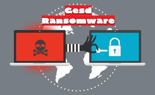remove Gesd ransomware