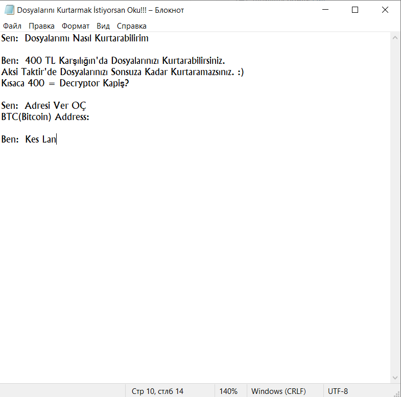 remove KesLan ransomware