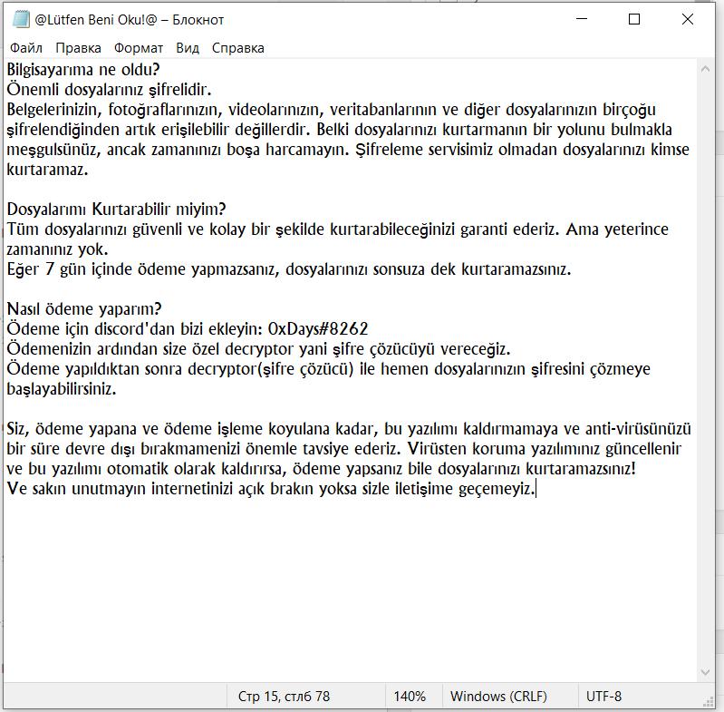 Kesla supprimer ransomware
