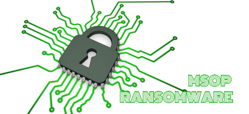 remove Msop ransomware