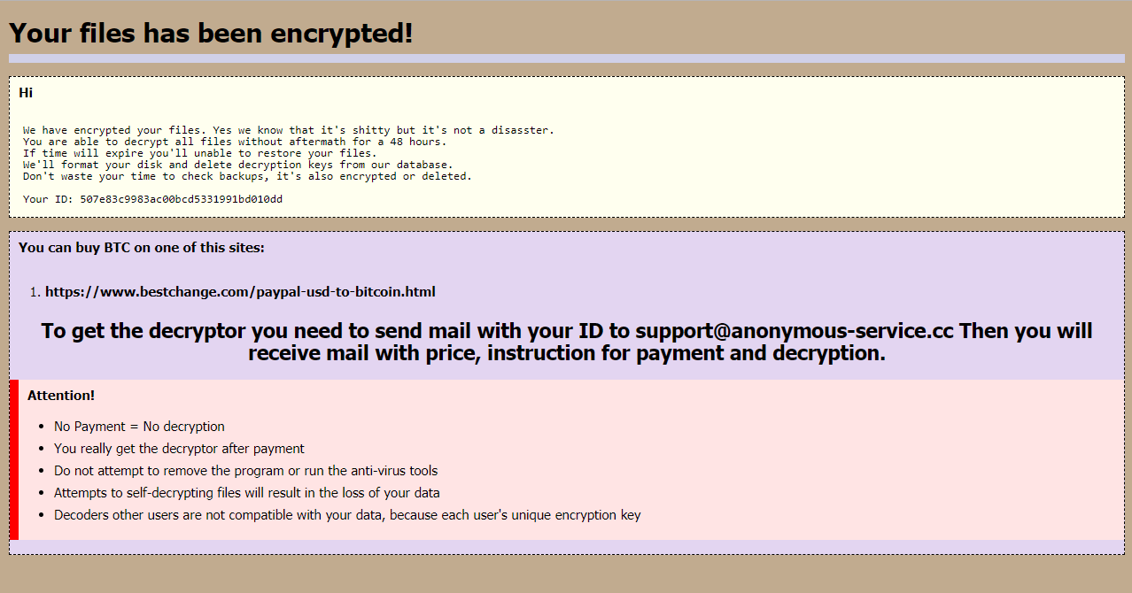 remove PPDDDP ransomware