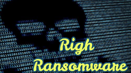 remove Righ ransomware