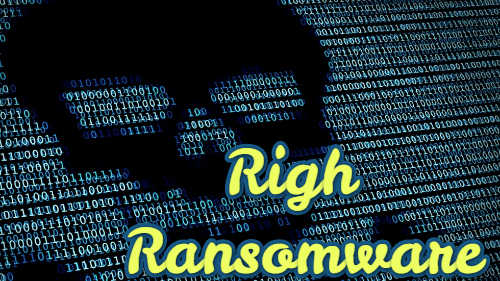 retirer Righ ransomware