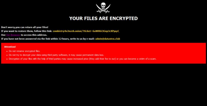remove ROGER ransomware