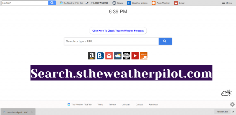 remover Search.stheweatherpilot.com sequestrador