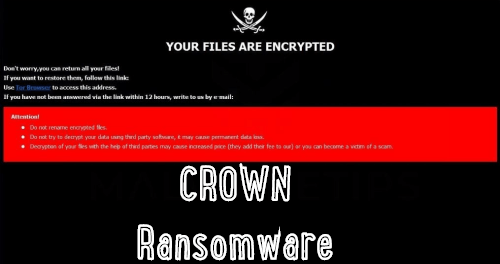 remove Crown ransomware