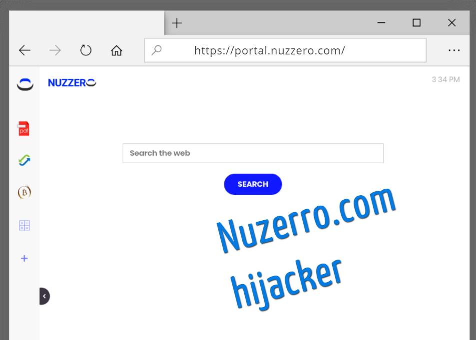 supprimer la recherche Nuzzero.com