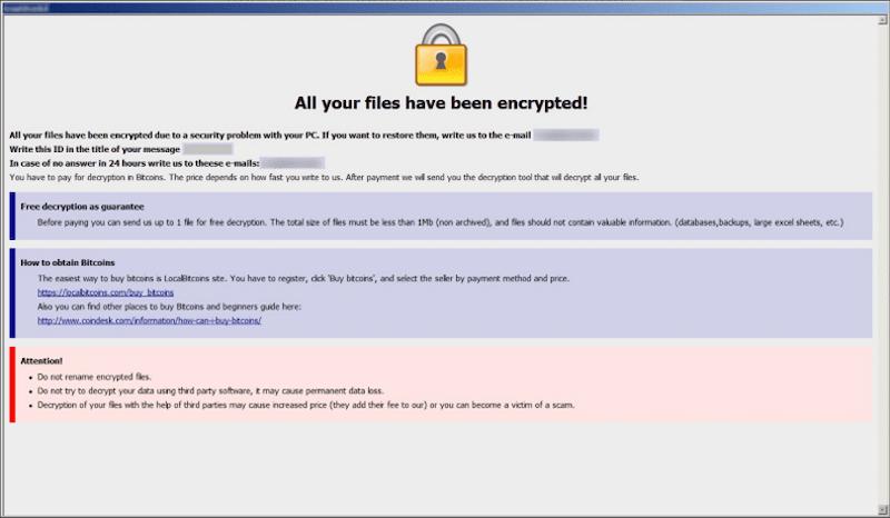 remove Eight ransomware