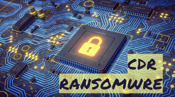 remover o Cdr ransomware