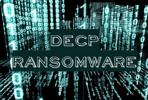 retirer DECP ransomware