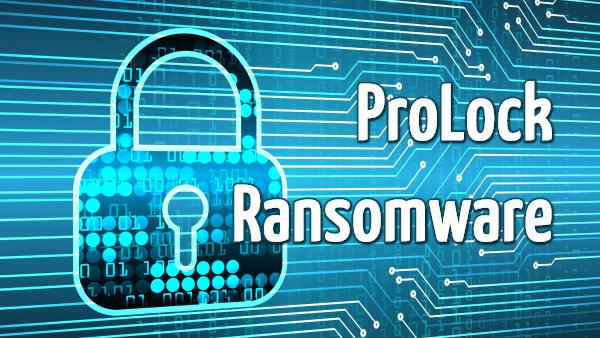 remover Prolock ransomware