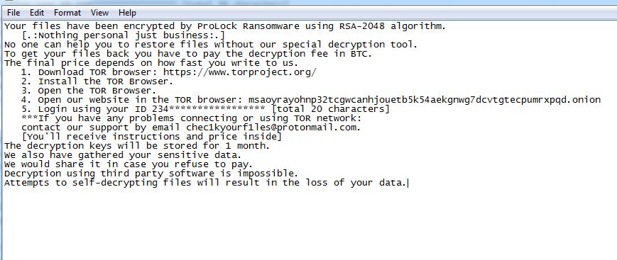 remover o Remk ransomware