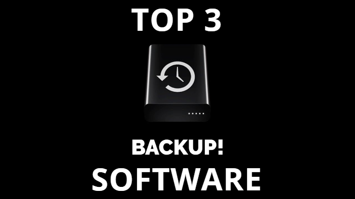 Top 3 Backup Software