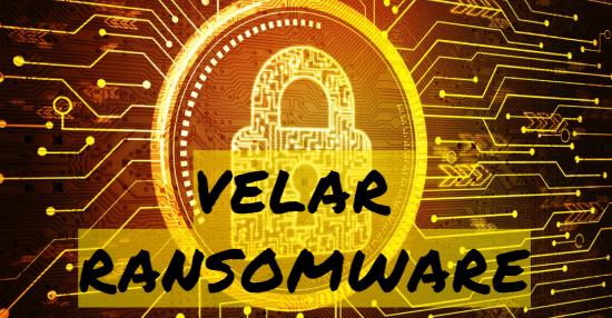 remove Velar ransomware