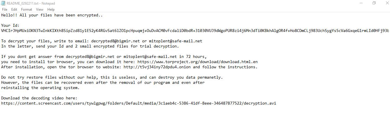 remove Blackout ransomware