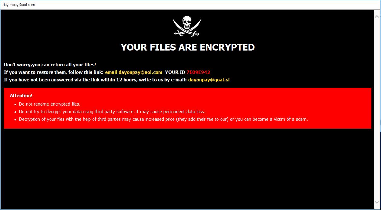 remove DOP ransomware