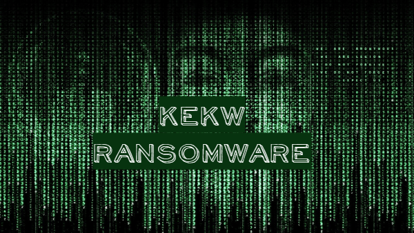 remover KEKW ransomware