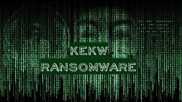 eliminar KEKW ransomware