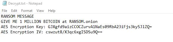 remove KEKW ransomware