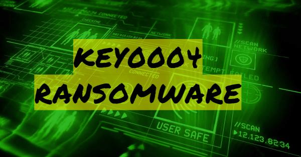 remove KEY0004 ransomware