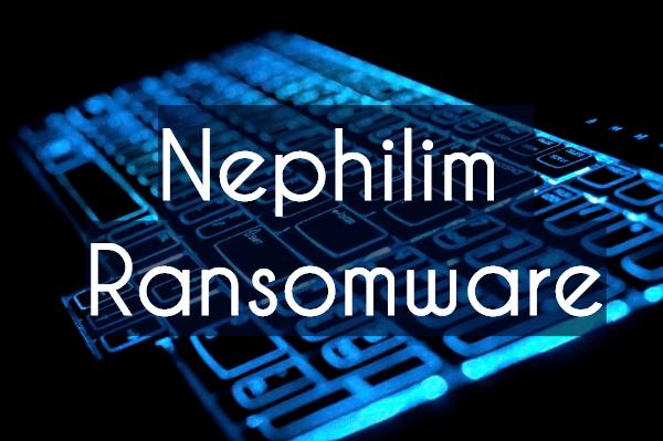 remove NEPHILIM ransomware