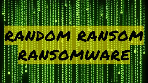 remover Random Ransom ransomware