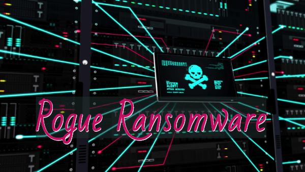 eliminar Rogue ransomware