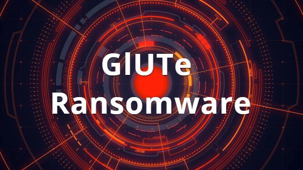 remover GlUTe ransomware