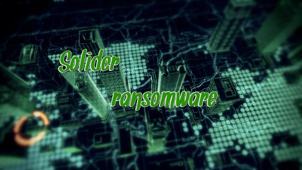 eliminar Solider ransomware