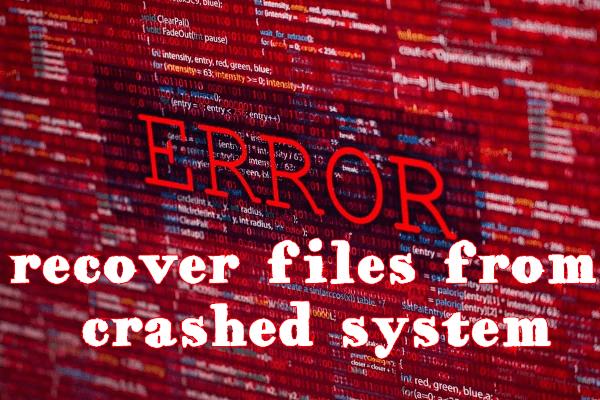 Recuperar archivos del sistema bloqueado