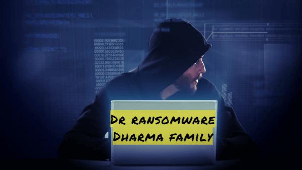 supprimer Dr ransomware