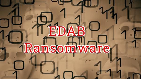 remove Edab ransomware
