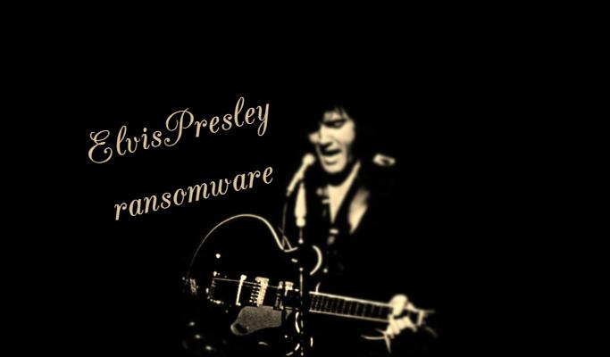 supprimer le rançongiciel ElvisPresley
