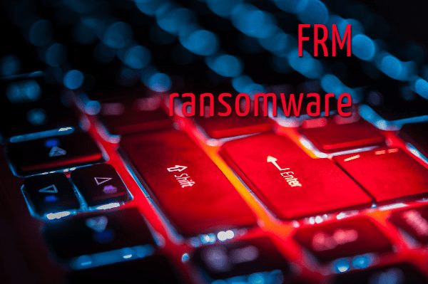 remover FRM ransomware