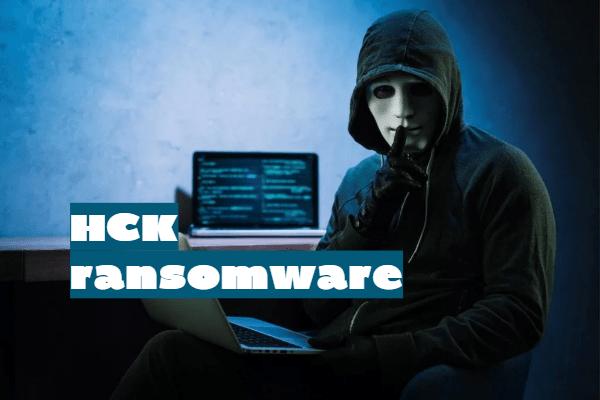 eliminar HCK ransomware