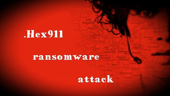 remove Hex911 ransomware