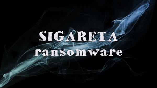 eliminar el ransomware Sigareta