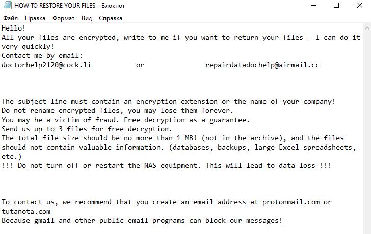.mwahahah-Dateien entschlüsseln