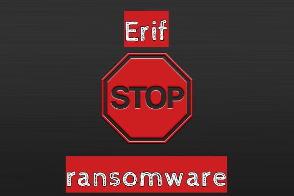 supprimer le ransomware Erif