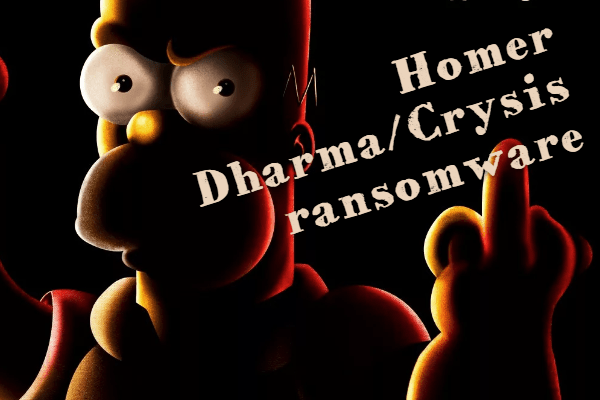 remover Homer ransomware