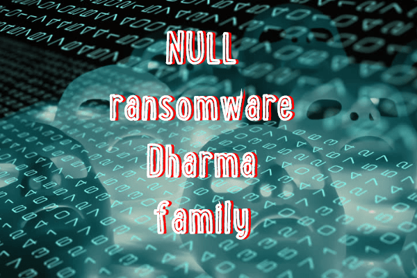 remove Null ransomware