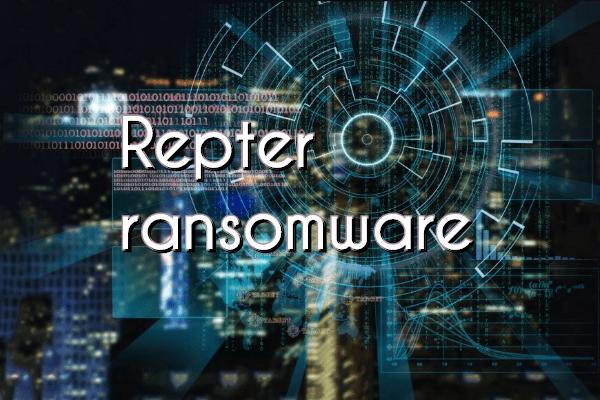 remover Repter ransomware