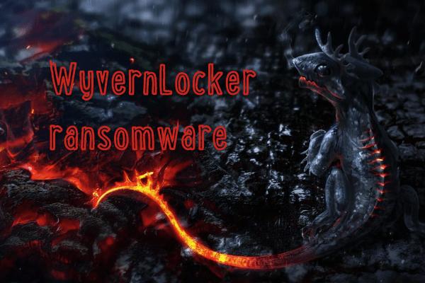 Entfernen Sie die WyvernLocker-Ransomware
