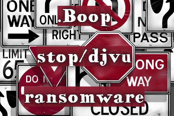 remove Boop ransomware