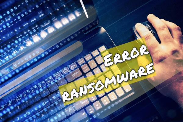 eliminar ERROR ransomware
