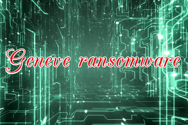 remover Geneve ransomware